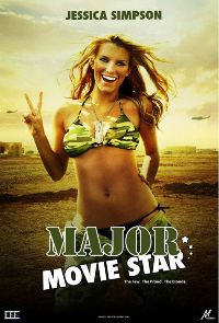 Blondinė eina į karą / Major Movie Star (2008) online