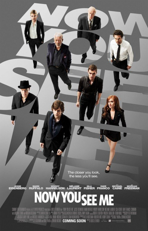 Apgaulės meistrai / Now You See Me (2013)LT