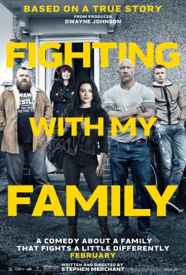 Šeimos kova / Fighting with My Family (2019) online